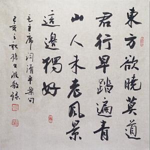 中国实力派青年书法家孙文波先生作品――清平乐  会昌