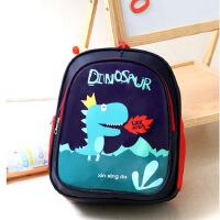 创意可爱恐龙印花小书包简约时尚宝宝潮背包幼儿园双肩包
