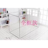 大学生女寝室宿舍床帘支架上铺带下铺加粗遮光蚊帐架子0.9m单人床 1.0m(3.3英尺)床