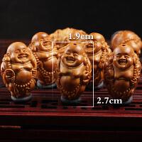 橄榄核雕手串文玩八宝弥勒苏工名家夏雨纯手工雕刻橄榄核手串男士