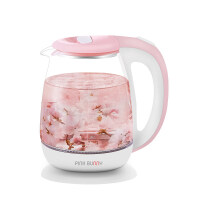 【新品】烧水壶透明小型自动断电家用养生电热煲水玻璃电煮开水茶壶热水壶