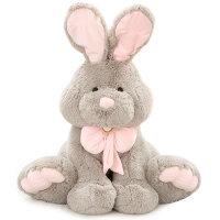 兔邦尼兔子公仔玩偶大号毛绒玩具布娃娃可爱睡觉抱女孩萌韩国抖音 灰色