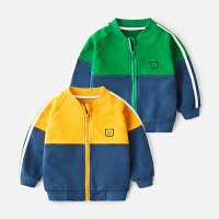 宝宝棒球服秋冬男童春秋外套童薄款秋装上衣儿童运动夹克