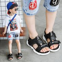 夏季儿童沙滩鞋男童凉鞋2019新款中大童韩版软底鞋男孩鞋子