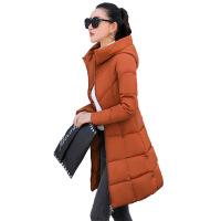 冬季新款棉衣女中长款韩版修身百搭棉袄外套加厚大码羽绒