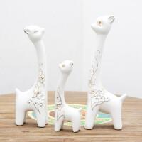 三只小象摆件家居客厅电视柜装饰品创意乔迁礼物结婚礼品 三只小象