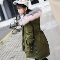 儿童羽绒服女童中长款加厚女大童童装中大童新款韩版反季