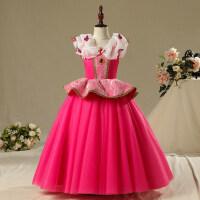 白雪公主裙灰姑娘艾莎连衣裙童话公主礼服冰雪奇缘公主裙安娜裙子
