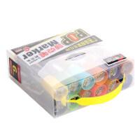 POP马克笔 海报笔 手绘油性笔 唛克笔 可加墨水马克笔12色套装