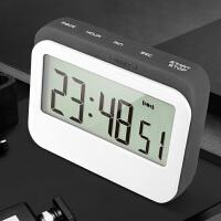 计时器提醒器学生时间管理器做题考研厨房定时器闹钟静音番茄钟 高 ji 灰