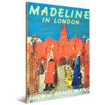 顺丰包邮 Madeline in London 玛德琳在伦敦 英文原版大开本绘本