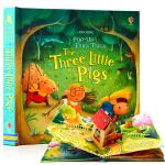 Usborne立体书 三只小猪 Pop-Up Three Little Pigs 英文原版绘本 经典童话故事 儿童趣味