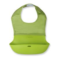 小孩围嘴软喂饭兜口水巾硅胶围兜婴儿童宝宝吃饭兜