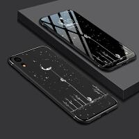iPhone xr手机壳苹果xr保护套硅胶全包防摔壳苹果 XR个性创意潮xr男女款情侣6.1寸磨砂软壳