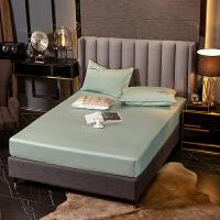 伊迪梦家纺 全棉单品床笠床上用品60S高支高密长绒棉纯色床垫床罩1.2/1.5/1.8米床LK621