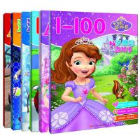 迪士尼N次擦写游戏书 全套6册3-6岁儿童益智创意涂画幼儿学习N次涂鸦书赛车玩具总动员苏菲亚公主冰雪奇缘拼音ABC数字