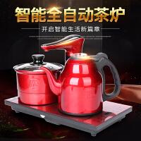 唐丰全自动上水电热壶家用台镶两用烧水壶功夫一体抽水茶台