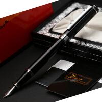 毕加索钢笔PS-902绅士纯黑银夹铱金钢笔/墨水笔钢笔