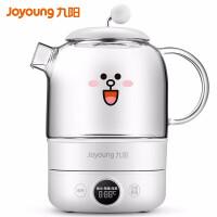 九阳(Joyoung)养生壶煮茶器家用煮茶壶电水壶热水壶烧水壶迷你玻璃米白K08-D601(白)