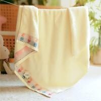宝宝浴巾 纱布婴儿浴巾新生儿大毛巾被宝宝洗澡巾超柔软吸水儿童幼儿园盖毯wk-78