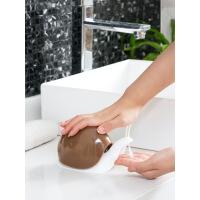 六一儿童节520蜗牛造型洗手液按压瓶乳液分装瓶 按压式洗发水乳液瓶沐浴露空瓶母亲节 图片色