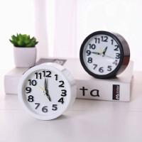 迷你闹钟创意个性懒人学生用床头小型简约电子小钟表宿舍桌面时钟