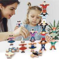 儿童叠叠乐积木大力士平衡玩具亲子互动早教益智男女孩叠叠高