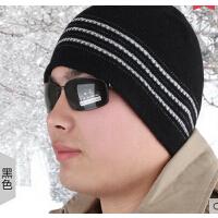 休闲护耳帽子 男士帽子 保暖韩版帽潮流毛线帽子