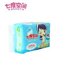 QSC6210 七度空间少女系列纯棉表层夜用卫生巾10片装275mm