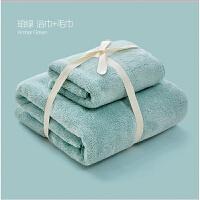 婴儿浴巾新生儿宝宝洗澡吸水柔软儿童大毛巾套装