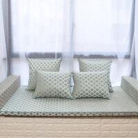 中式榻榻米地垫椰棕定制拆洗床垫飘窗坐垫雪尼棕坐垫实木沙发垫定制