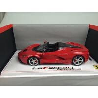 新款BBR 拉 车模 1:18 La F70 拉法敞篷汽车模型 红色敞篷限量