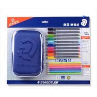德国STAEDTLER 施德楼 180&334 书写笔 环保铅笔 值笔袋套装
