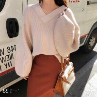 高冷范女装秋冬法式气质小香风针织毛衣加半身裙子两件套装连衣裙