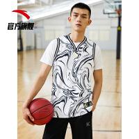 【到手价100】安踏汤普森运动背心2021夏季新款KT篮球透气男士无袖T恤152121181