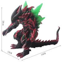 哥斯拉玩具 奥特曼怪兽玩具软胶关节可动玛加巴萨大蛇哥尔赞哥莫拉哥斯拉怪兽