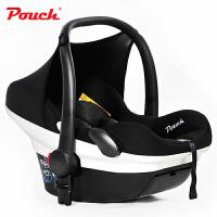 Pouch婴儿提篮新生儿汽车安全座椅婴幼儿车载睡篮大空间3C认证