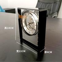 [新品上市]欧式钟表摆件家居装饰品客厅创意桌面台式水晶座钟酒柜工艺品美式 座钟