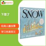 #凯迪克 Snow 下雪了 英文原版绘本 英语启蒙