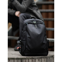 HK双肩包男时尚潮流背包男士旅行包休闲电脑包青年轻便大学生书包
