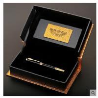 HERO/英雄钢笔766彩色金夹铱金商务女士礼品笔礼盒装