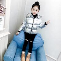 女童棉衣冬装2018新款韩版洋气潮童装中大童短款棉袄儿童加厚棉服