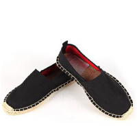 时尚休闲帆布麻绳草编布鞋男女同款禅意学生鞋居士鞋禅修僧鞋