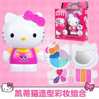 凯蒂猫化妆盒儿童化妆品套装公主彩妆盒女孩口红女童宝宝玩具