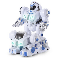儿童礼物 男孩 3-6机器人儿童玩具男孩2-3岁益智力7-9变形机器人6金刚男童8岁小孩子45 K4智能变形机器人