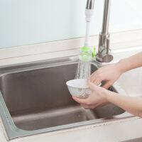 【好货】厨卫水龙头节水花洒 厨房洗菜洗碗塑料节水器 带阀门可旋转
