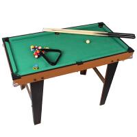 台球桌儿童大号1.3米家用台球桌标准美式桌球台室内男孩运动儿童玩具桌面亲子游戏