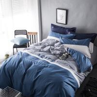 全棉床套四件套1.8m纯棉床单被套1.5被子床上三件套床笠2.0米双人定制