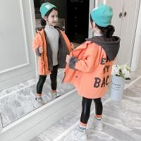 2019新款韩版洋气女孩加厚棉袄女童冬装加绒外套