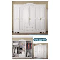 衣柜经济型衣柜简约现代组装卧室木质板3门4门整体欧式五六门衣橱